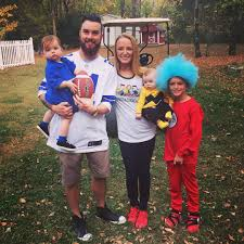the best part about having kids is being able to dress them up in family themed costumes right