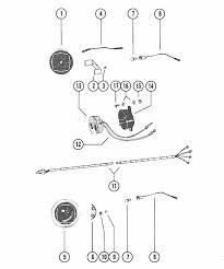 mercury marine v 225 hp tachometer, trim gauge & alarm horn parts Mercury Trim Gauge Wiring Diagram Mercury Trim Gauge Wiring Diagram #17 wiring diagram for a mercury trim gauge