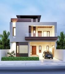 modern architectural house. Modren House Architectural Previsualization Renders With Modern House