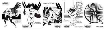 This set of incredibles 2 coloring pages and activity pages includes 5 coloring pages, door hangers, recipes, a matching card game, etc. Incredibles 2 Crafts Printables Recipes Coloring Pages Incredibles2event The Crafty Chica Crafts Latinx Art Creative Motivation