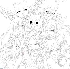 Small Picture Fairy tail coloring pages all characters ColoringStar