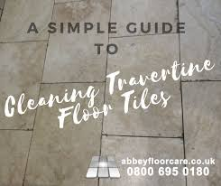 cleaning travertine floor tiles your simple how to guide