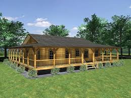 one story ranch farmhouses wrap around porches floor plans with front porch full size