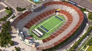 Usc Coliseum Seating Chart Los Angeles Rams Virtual Venue By Iomedia