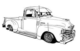 Small Picture vintage truck color book pages Lowrider Coloring Book by
