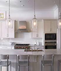 kitchen island pendant lighting ideas outstanding 49 fantastic clear glass pendant lights design of kitchen island