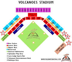 Volcanoes Stadium Seating Chart Salem Keizer Volcanoes Volcanoes Stadium