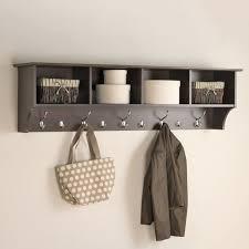 6 Hook Coat Rack Prepac Furniture Espresso 100Hook Mounted Coat Rack 100 Hook Wall 100