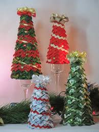 358 best Quilted Star Balls images on Pinterest | Ideas, DIY ... & Tabletop quilted fabric Christmas tree by KCFabricOrnaments Adamdwight.com