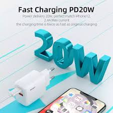 <b>Essager 20W</b> UK / EU/US USB Charger <b>Quick Charge</b> 3.0 For ...