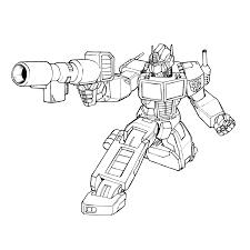 Transformers Optimus Prime Transformers Transformers Coloring