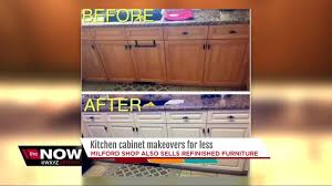 cabinets for less. Modren Less Milford Business Owner Gives Kitchen Cabinets A New Look For Cabinets Less L
