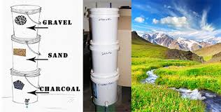 homemade water purifier. It Homemade Water Purifier