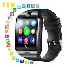 FXM dijital saatler akıllı saat kamera ile Bluetooth Smartwatch Sim kart  yuvası fitnes aktivite takip cihazı için spor İzle Android|Sevgili Saatleri