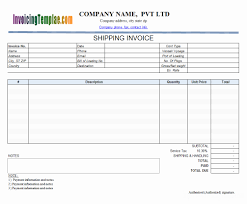 Sample Invoices Excel Contractor Templates And Free Construction