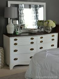 painted dresser and mirror makeover master bedroom furniture bedroom furniture makeover