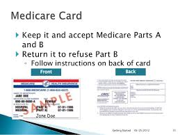 Medicare Getting Started