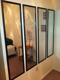 Beautiful Maybe Bedroom? Have An Empty Wall? Cover It Will Slim Mirrors, They Are  Cheap And Easy To Hang. This Will Have All Your Guests Talking, Plus It  Really Adds ...