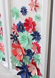 Cardstock Paper Flower How To Make Paper Flowers With Cardstock Flowers Healthy
