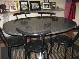 granite kitchen table style