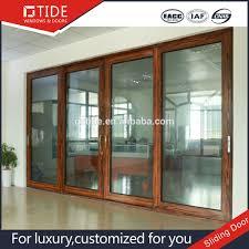 incomparable wood sliding glass doors sliding french door finishing wood aluminum sliding glass doors