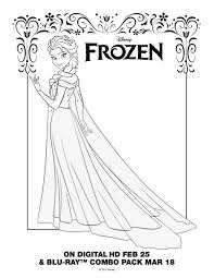 Elsa Coloring Pages Get Coloring Pages