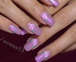 Vintage Pink Flower video nail art design tutorial ,Hand painted ...
