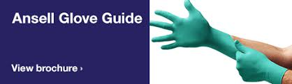 Ansell Chemical Chart Ansell Glove Guide