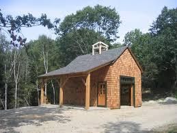 16 x 24 timber frame barn