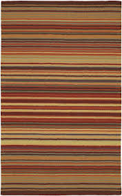 surya multi 8 x 11 wool striped lines contemporary area rug approx 8 x 11