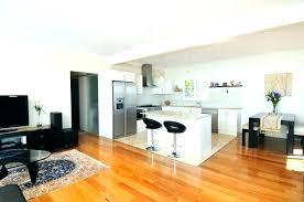 kitchen and living room open floor plans open kitchen and living room ideas design for small