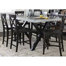 zinc dining room table. The Gray Barn Outerlands Charcoal And Zinc Top Testle Gathering Table - Free Shipping Today Overstock.com 17711946 Dining Room R