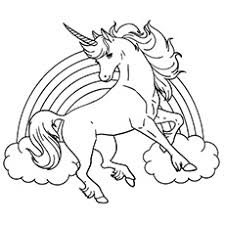 Rainbow Unicorn top 25 free printable unicorn coloring pages online on free coloring pages unicorn