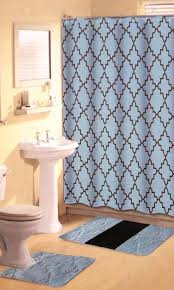 thick bathroom rug sets fresh brown blue bathroom set 15 pc soft thick rugs