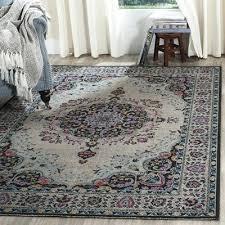 artisan light grey and black area rug rugs de luxe home artisan area rugs