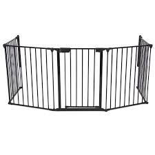 baby safety fence hearth gate bbq fire gate fireplace metal plastic com