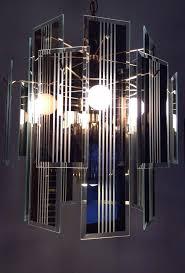 beveled glass chandelier panels vintage art hanging chandelier beveled reflective smoke gray glass panel chandelier replacement