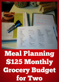 weekly meal planning for two 125 monthly grocery budget for two budgeting meals and food