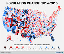 Growing And Shrinking These Are The Fastest Growing And Shrinking Counties In