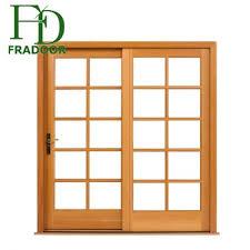 bedroom posite sliding barn teak wood door frame