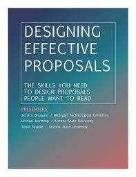 Effective Workshop Design 2019 Nordp Workshop Designing Effective Proposals Workbook