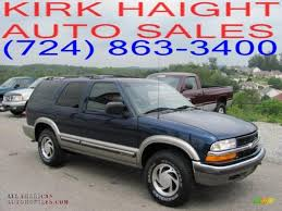 2000 Chevrolet Blazer LT 4x4 in Indigo Blue Metallic - 373201 ...