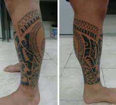 Maori Rampa Na Zadní Straně Tattoo Maori Hodnota Pro Kmen Jak