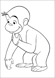 George Coloring Pages Free Curious Coloring Pages Curious Color