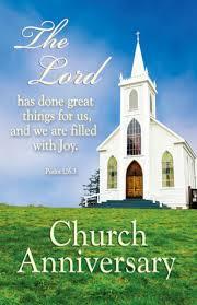 Scriptures For Church Anniversary Under Fontanacountryinn Com
