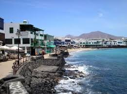 Afbeeldingsresultaat voor playa blanca lanzarote