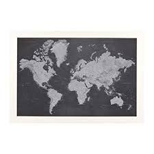 Bms Interactive Seating Chart Stormy Dreams World Travel Map With Textured White Frame