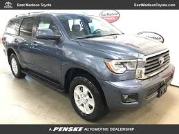 2018 New Toyota Sequoia SR5 4WD at East Madison Toyota Serving ...