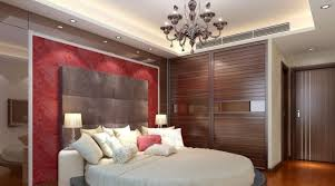 Bedroom. Master Bedroom With Pop Ceiling And Recessed Lights Design. Light  Up The Bedroom