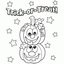 Small Picture Coloring Page Halloween Pages Pumpkins Free mosatt